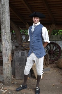 Phill Gregson Master Wheelwright at Colonial Williamsburg