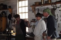 Wheelwright's at the Blacksmiths shop, Colonial Williamsburg
