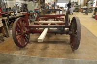 Horsedrawn pole wagon repairs South Dakota