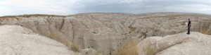 Badlands panarama