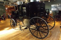 Horsedrawn carriage North west Carriage museum