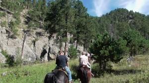 horseback trail