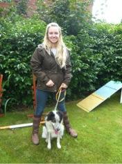Emily Gregson, veterinary surgeon